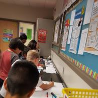 6th grade Ozobots 1