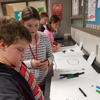 6th grade Ozobots 3