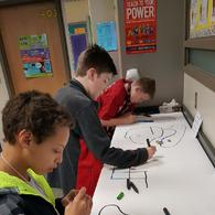 6th grade Ozobots 8