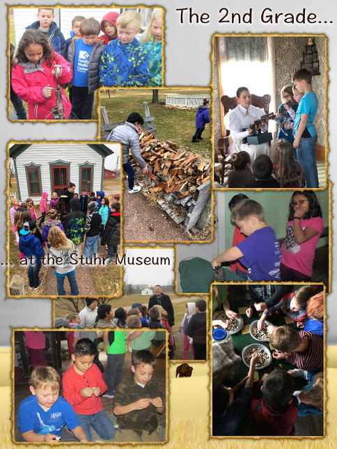 The 2nd Grade Goes to the Stuhr Museum - November 2017