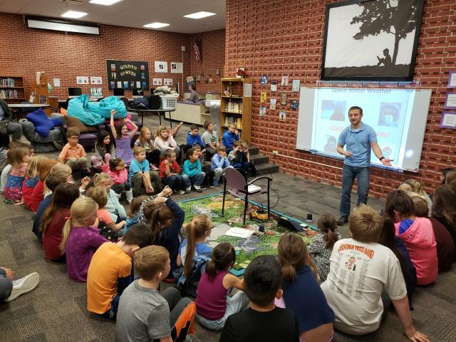 2nd Grade Learns About Winter Weather image