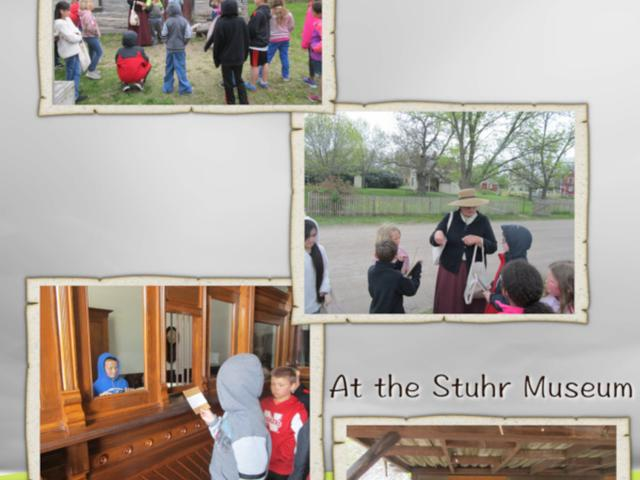 The 3rd Grade Goes to the Stuhr Museum - May 2019 image