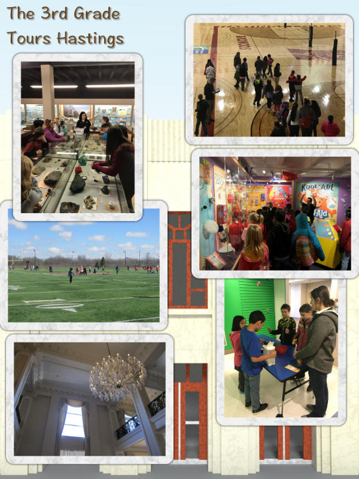 The 3rd Grade Tours Hastings - April 2017 image