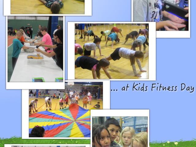 The 4th Grade Goes to Fitness Day - October 2017 image