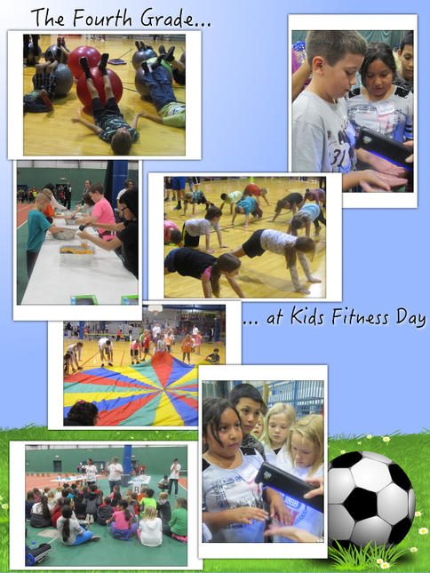 The 4th Grade Goes to Fitness Day - October 2017