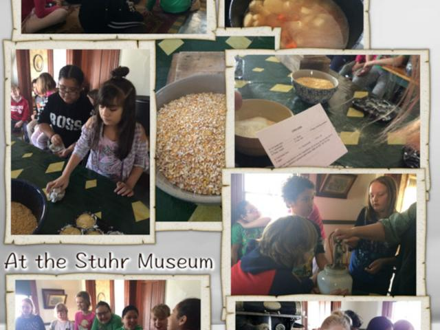 The 4th Grade Goes to the Stuhr Museum - February 2019 image