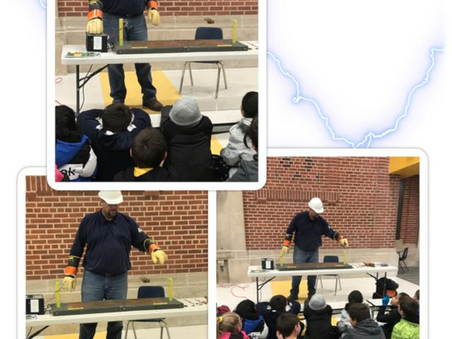 Alcott's 4th Graders Learn About Electricity - January 2019 image