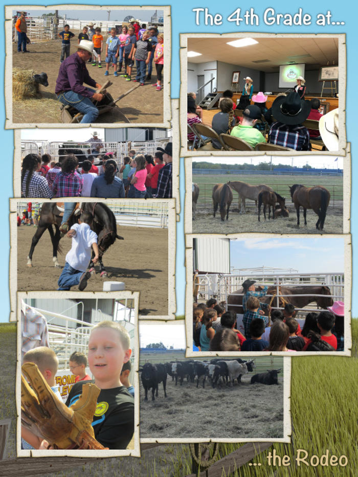 The 4th Grade Goes to the Rodeo - August 2017 image