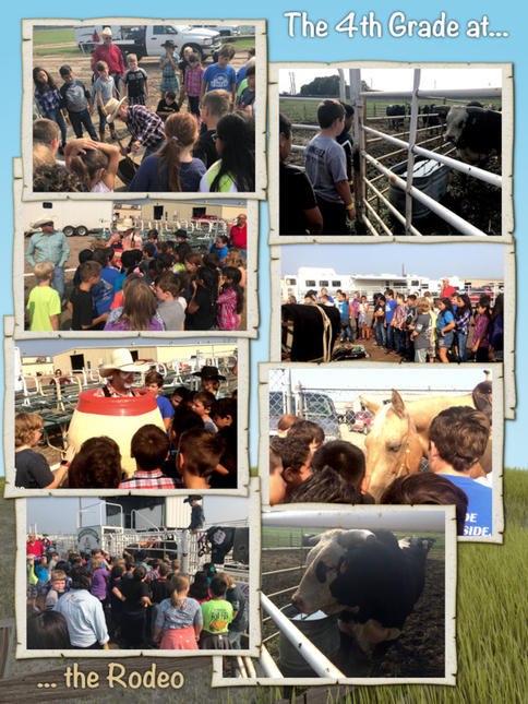 The 4th Grade Goes to the Oregon Trail Rodeo - August 2018