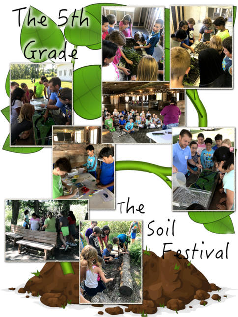 The 5th Grade Goes to the Soil Festival - September 2018