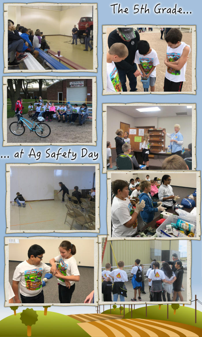 The 5th Grade Goes to Ag Safety Day - October 2017 image
