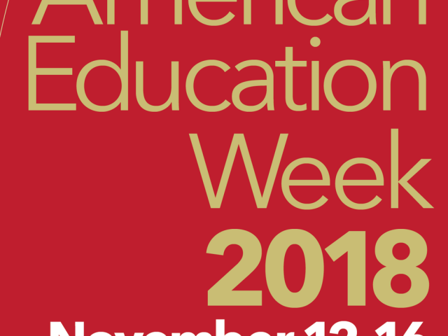 American Education Week 2018 image
