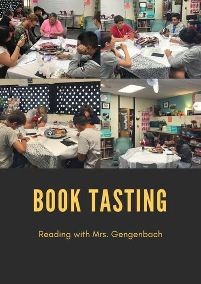 Reading Classes Have Book Tasting! image