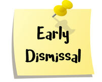PreK-5 Early Dismissal, May 16 image