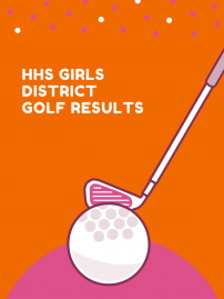 HHS Girls Golf District Results! image