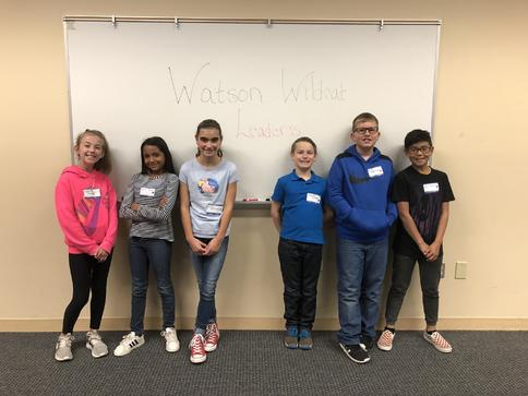 Watson 5th grade attending Leadership Conference