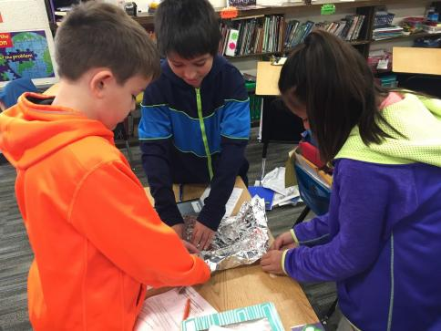 5th Graders STEM project
