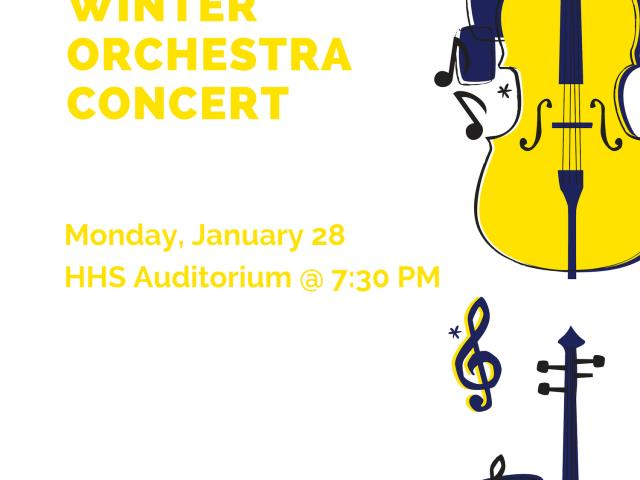 Late Winter Orchestra Concert, Monday, January 28 image