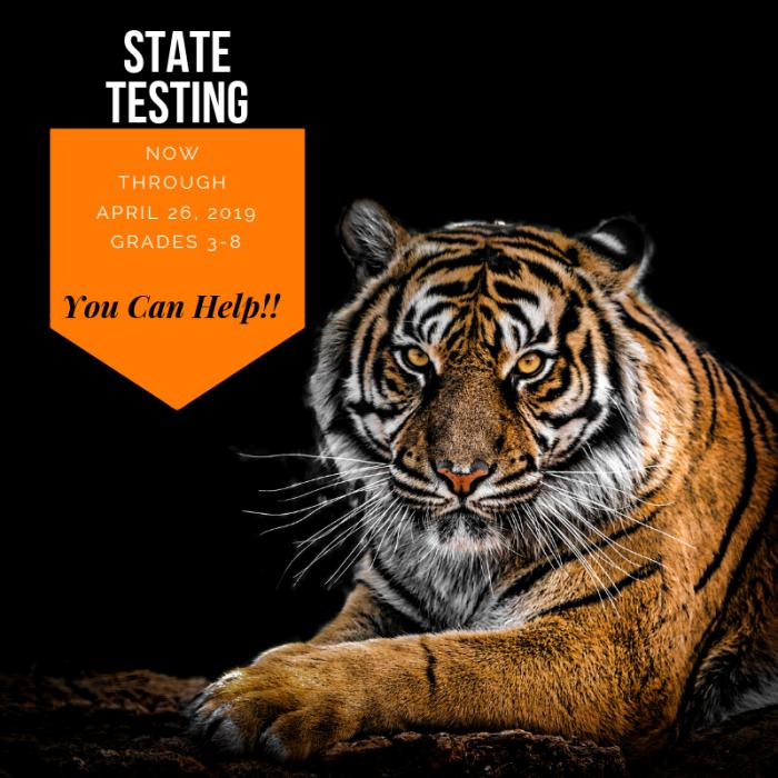 State Testing- You Can Help! image