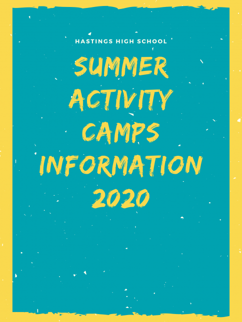 HHS Summer Activity Camps 2020