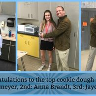 Cookie Dough Fundraiser Winners