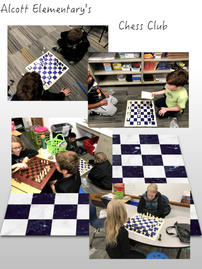 Alcott Elementary's Chess Club - October 2018 image
