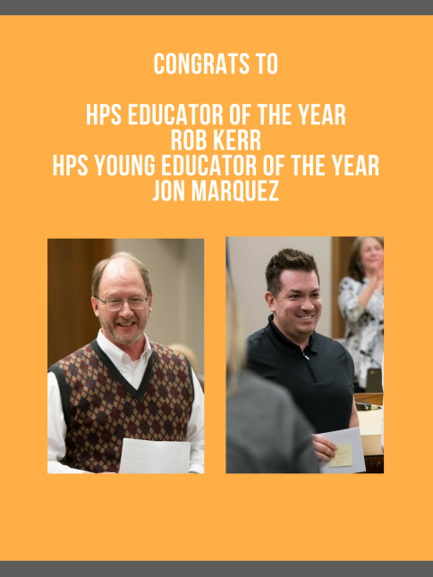 Hastings Public Schools Educators of the Year