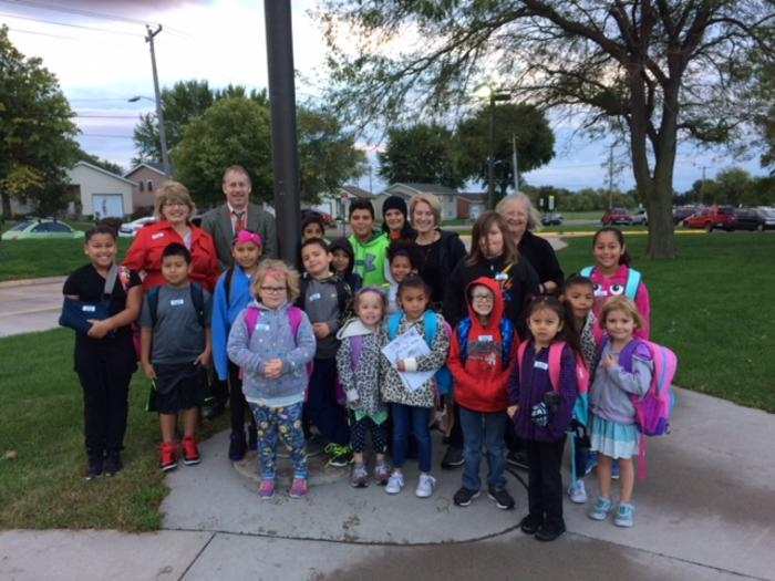 Walk to School Day image