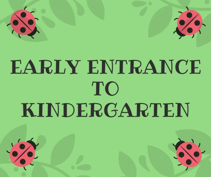 Early Entrance to Kindergarten image