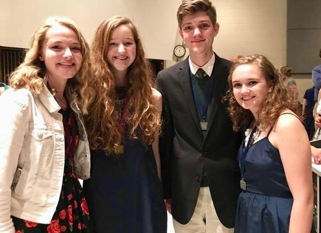 Four HHS Students Qualify for National History Day image