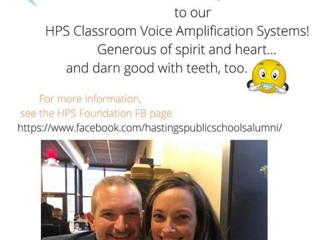 HPS Classroom Voice Amplification System! image