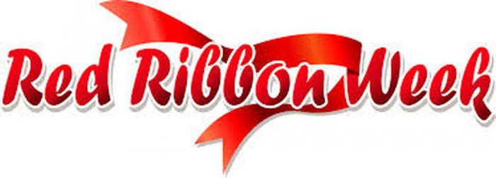 Red Ribbon Week October 28th to Nov 1st Activities image