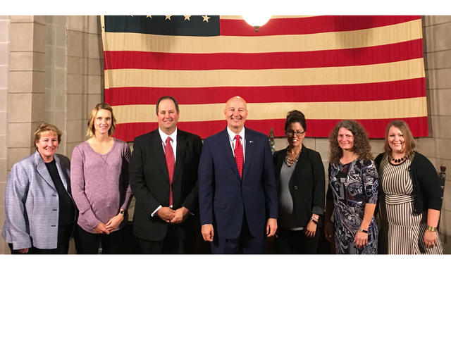 HPS Recognized in Governor Ricketts' Press Conference