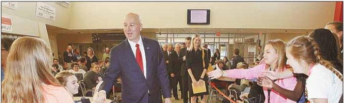 Governor Ricketts Tours HMS Skilled Sciences Programs image