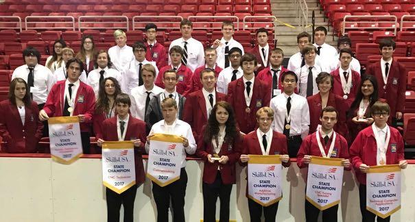 HHS SkillsUSA ROCKS at State! image