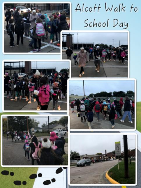 Alcott Walk to School Day - October 2018