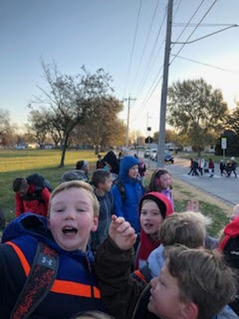 Wellness Walk to School Day