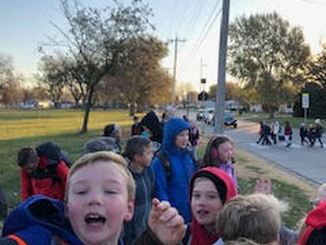 Wellness Walk to School Day image