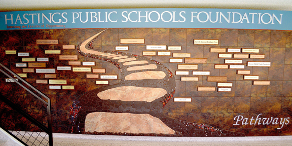 Check out our Foundation DONOR WALL!! image