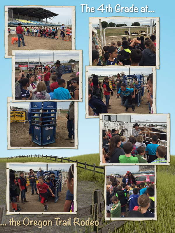 The 4th Grade goes to the Oregon Trail Rodeo - August 2016 image