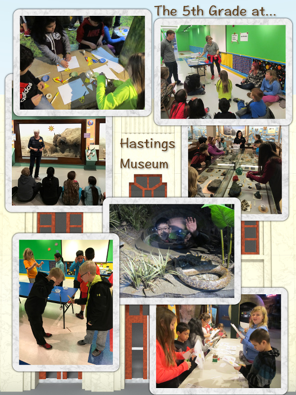 The 5th Grade Goes to Hastings Museum - March 2017 image