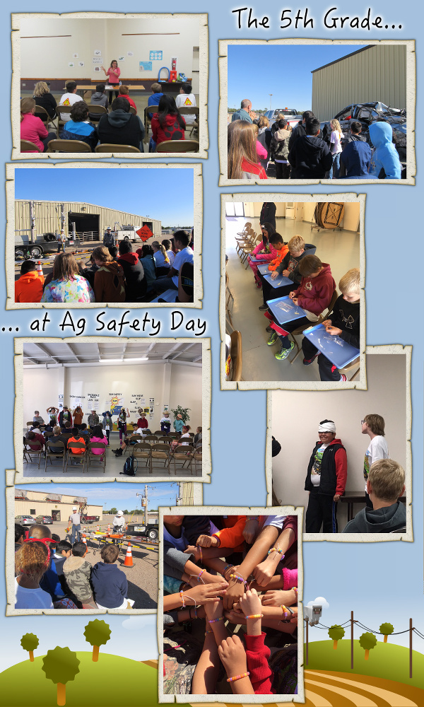 The 5th Grade goes to Ag Safety Day - October 2016 image