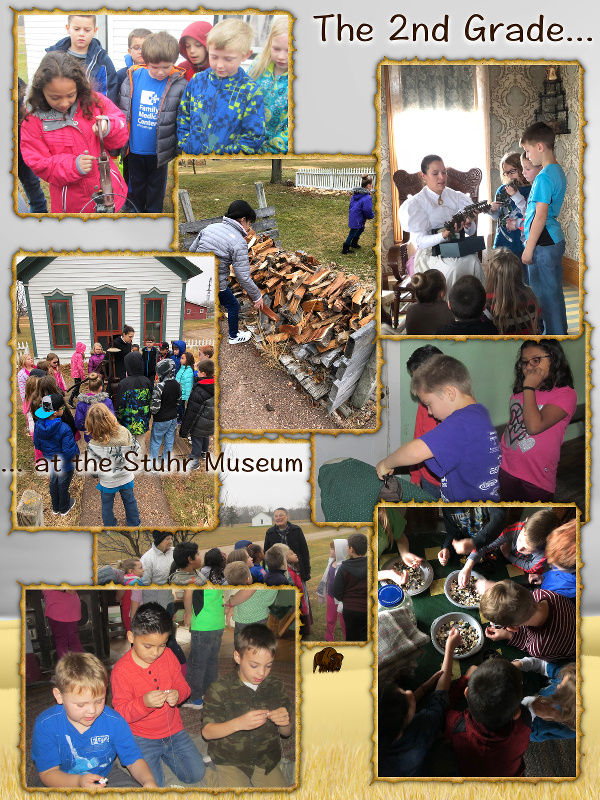 The 2nd Grade Goes to the Stuhr Museum - November 2017 image