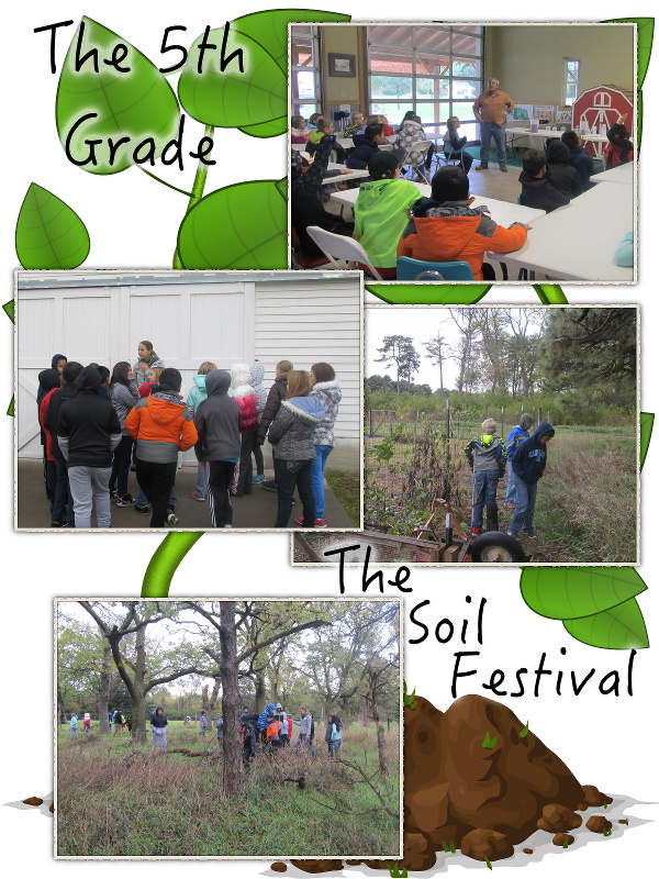 The 5th Grade Goes to the Soil Festival - October 2017 image