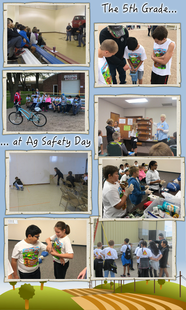 The 5th Grade Goes to Ag Safety Day - October 2017
