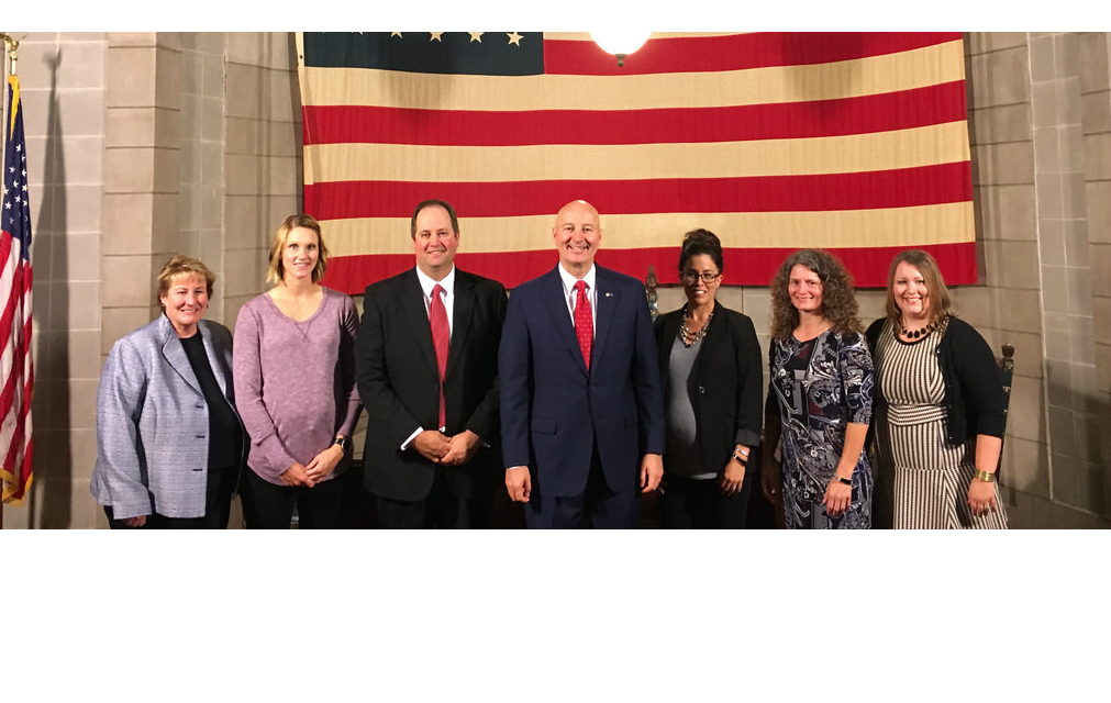 HPS Recognized in Governor Ricketts' Press Conference image
