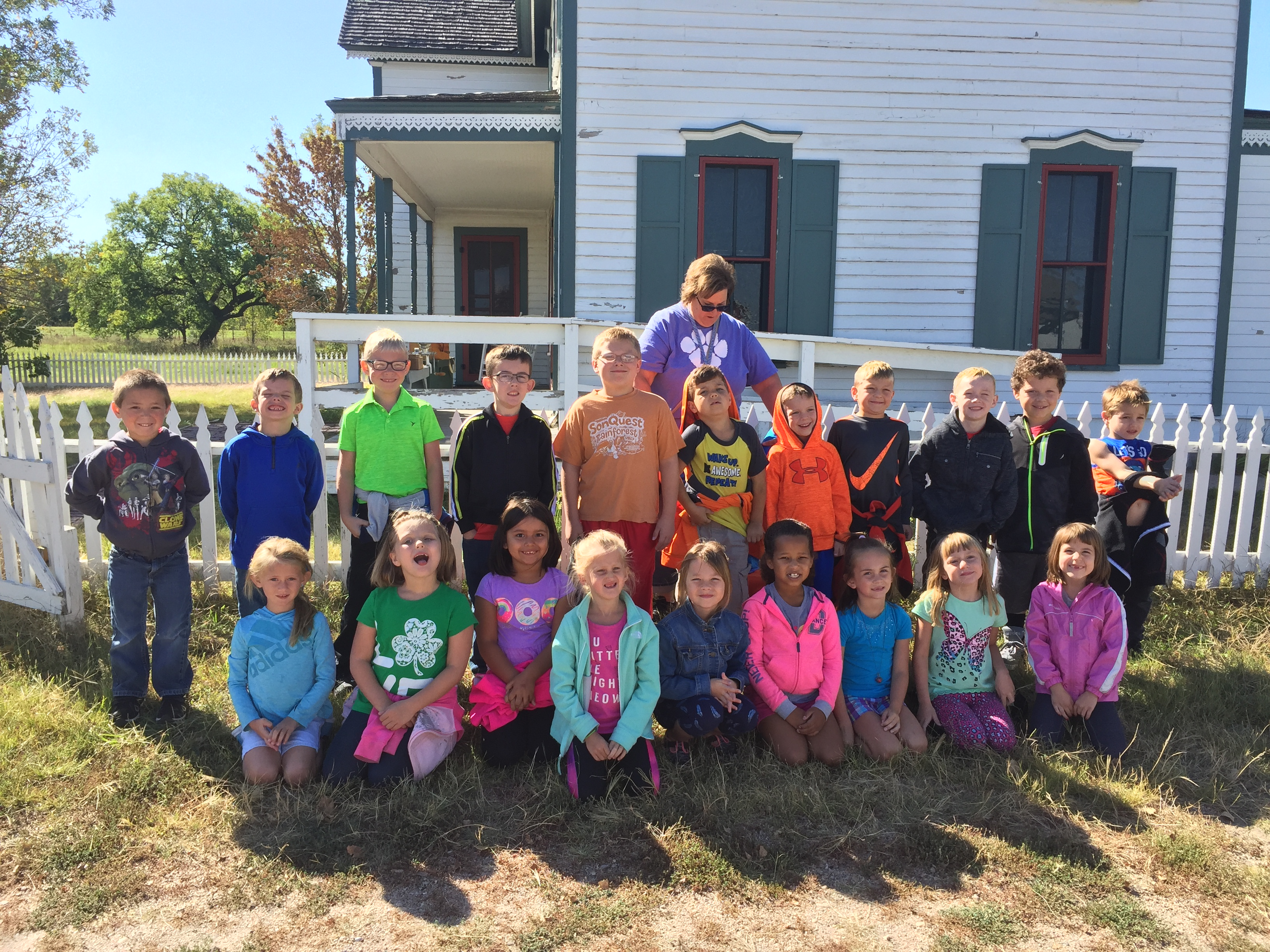 First Grade fieldtrip to the Stuhr Museum image