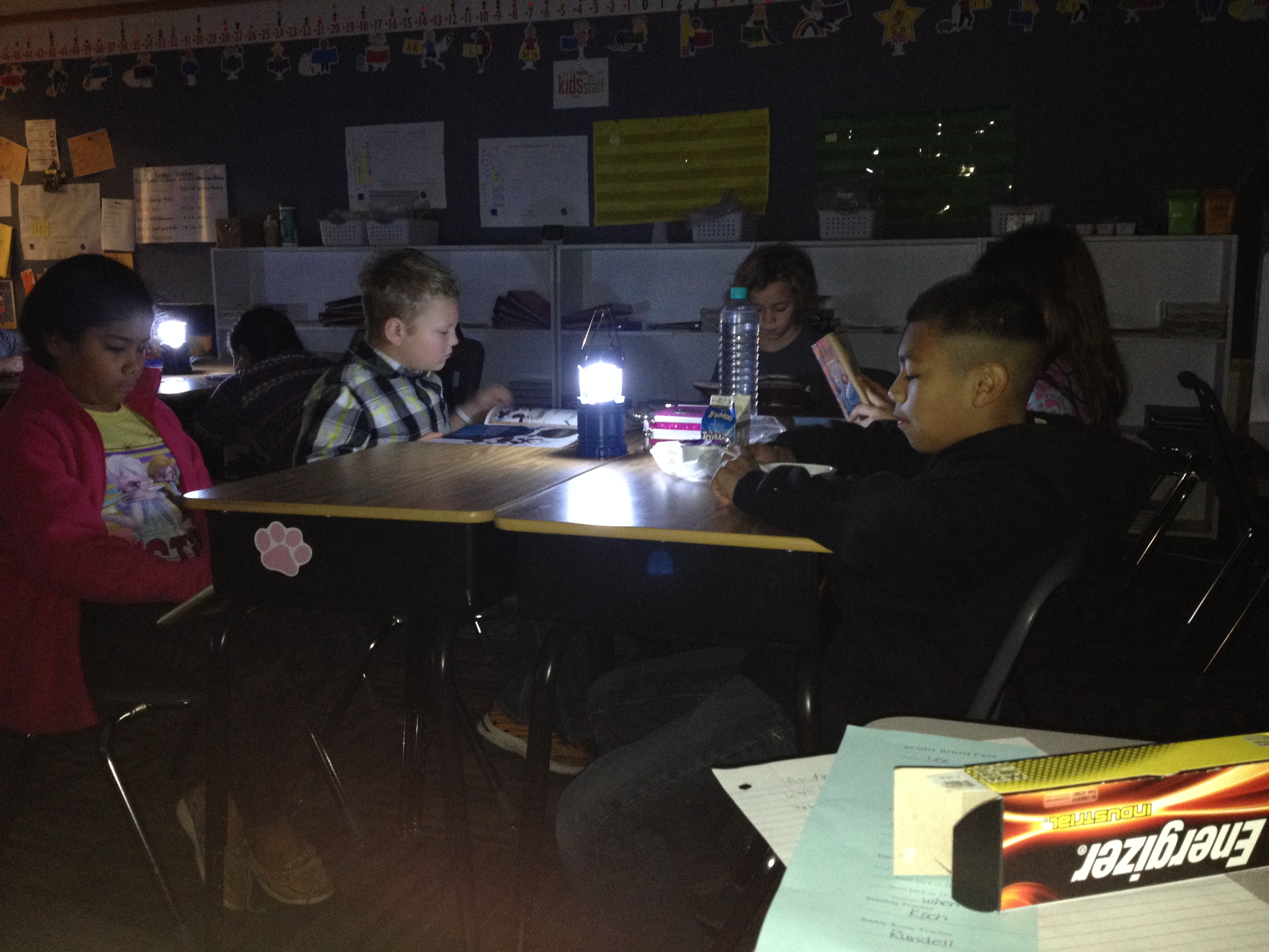 Learning by Flashlight image
