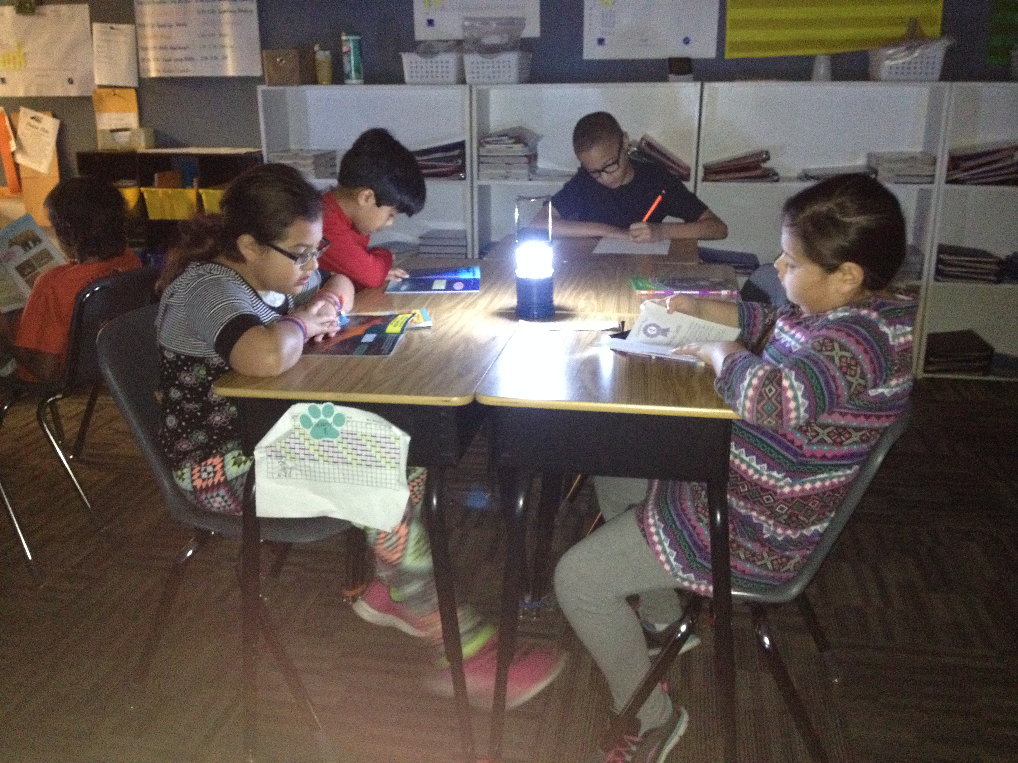 Learning by Flashlight