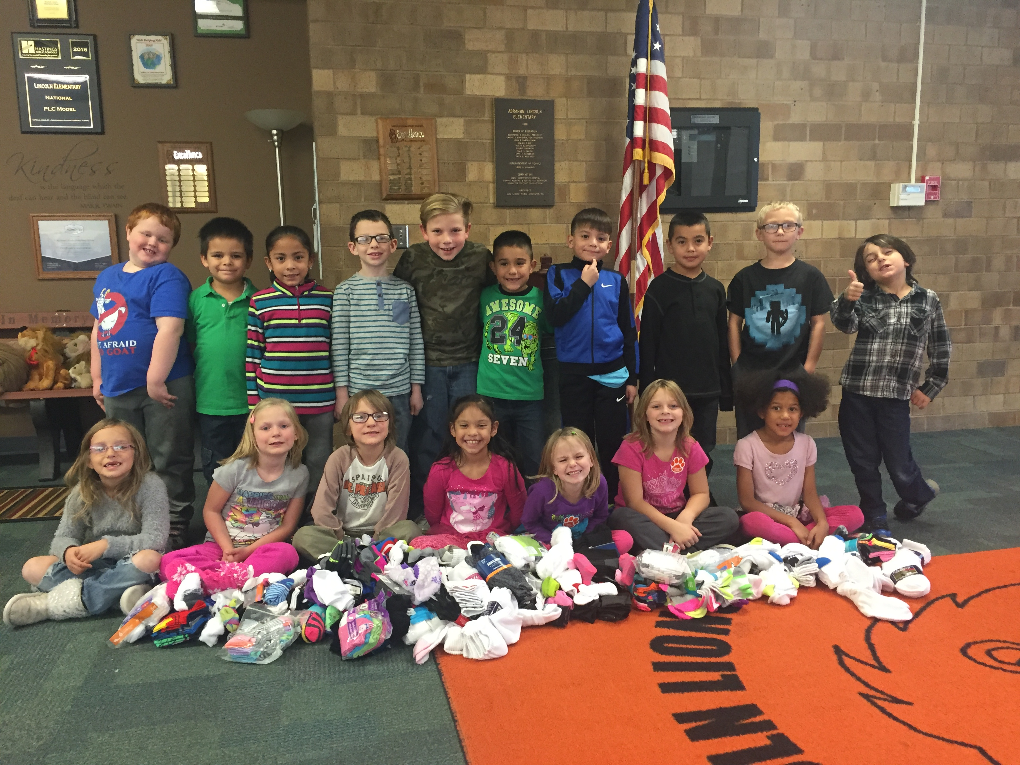 Lincoln Sock Drive image